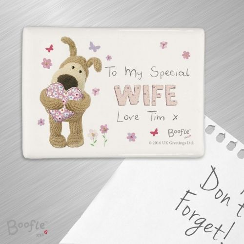 Boofle Flowers Fridge Magnet